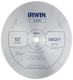 Best IRWIN Miter Circular Saw Blade, 10-Inch 180T (11870)