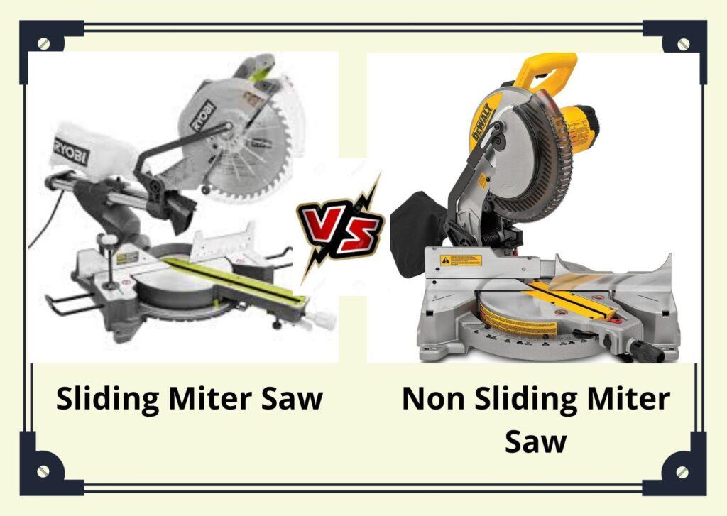 Best Sliding Vs Non Sliding Miter Saw Review For 2021