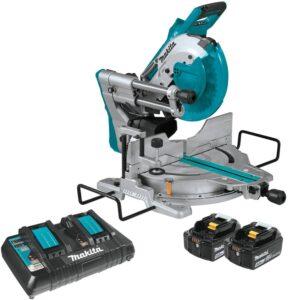 Makita XSL06PT Cordless 10″ Dual-Bevel Sliding Compound Miter Saw-review